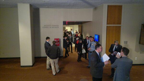 Заседание СБ ООН по ситуации на Украине. Фото с места событий