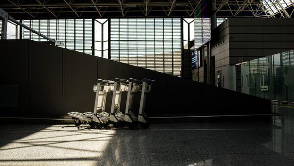В аэропорту города Сочи. Архивное фото