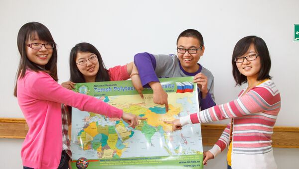 Студенты ТПУ из Китая, архивное фото