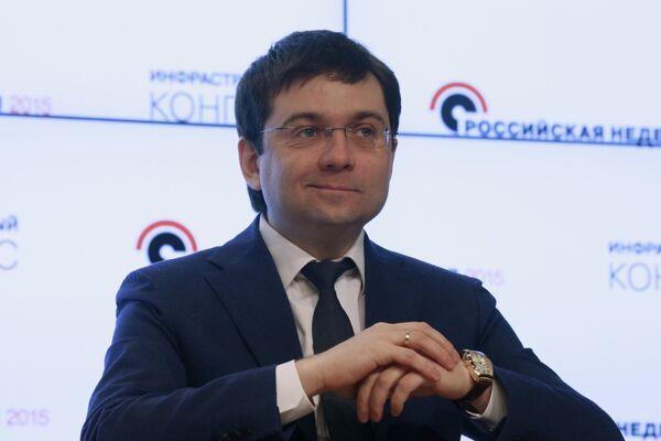 Заместитель министра строительства и жилищно-коммунального хозяйства России Андрей Чибис