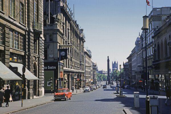 Вид на Трафальгар-сквер, Лондон