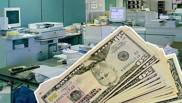 офис, доллар, деньги, ставки, цены
