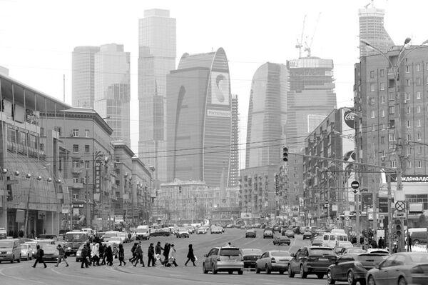 Общий вид на Москва-Сити