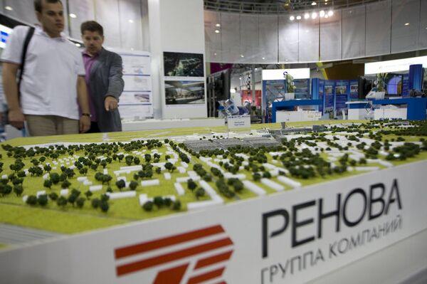 Стенд группы компаний Ренова