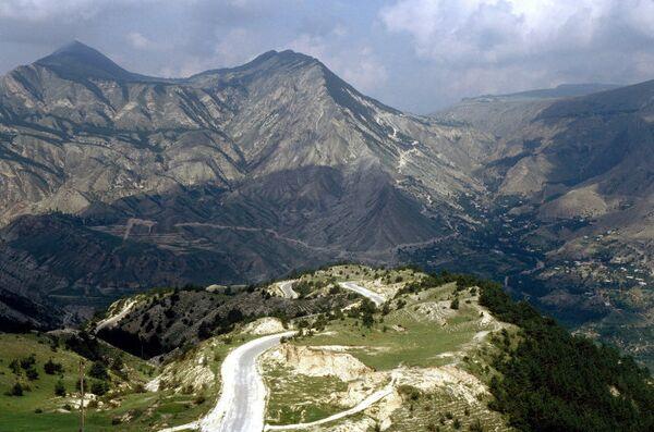 В горах Дагестана