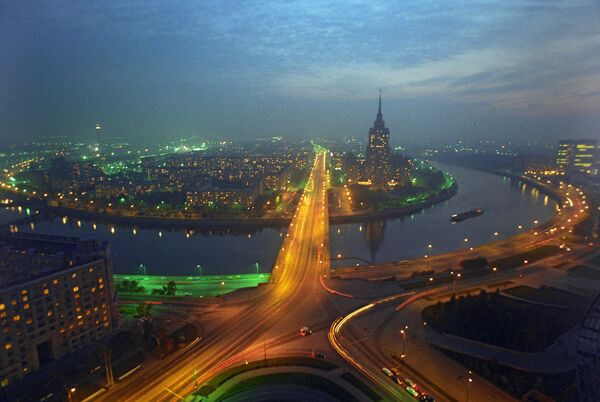 Москва, панорама