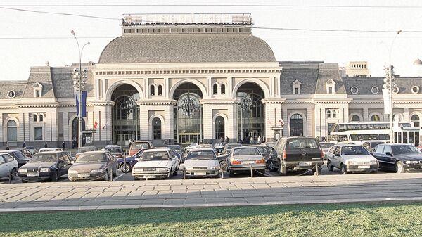 Павелецкий вокзал в Москве