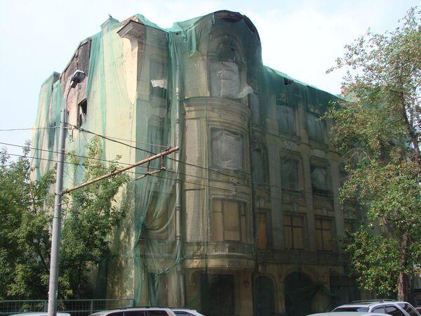 Дом Быкова, архитектор Лев Кекушев, 1909