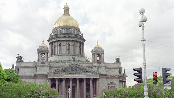 Исаакиевский собор. Архивное фото
