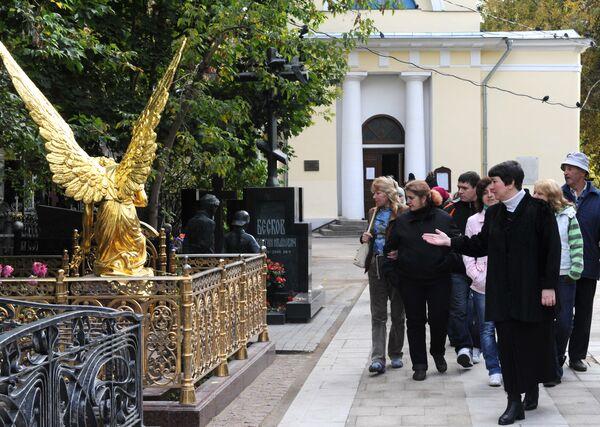Экскурсия по Ваганьковскому кладбищу