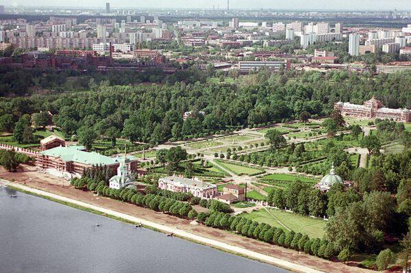 Вид на Музей-усадьбу Кусково