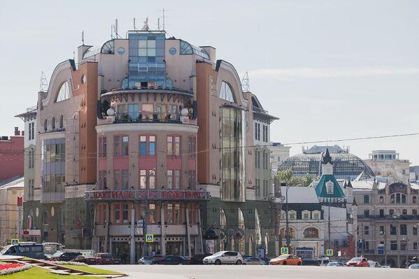 Торговый центр Наутилус на Лубянке в Москве