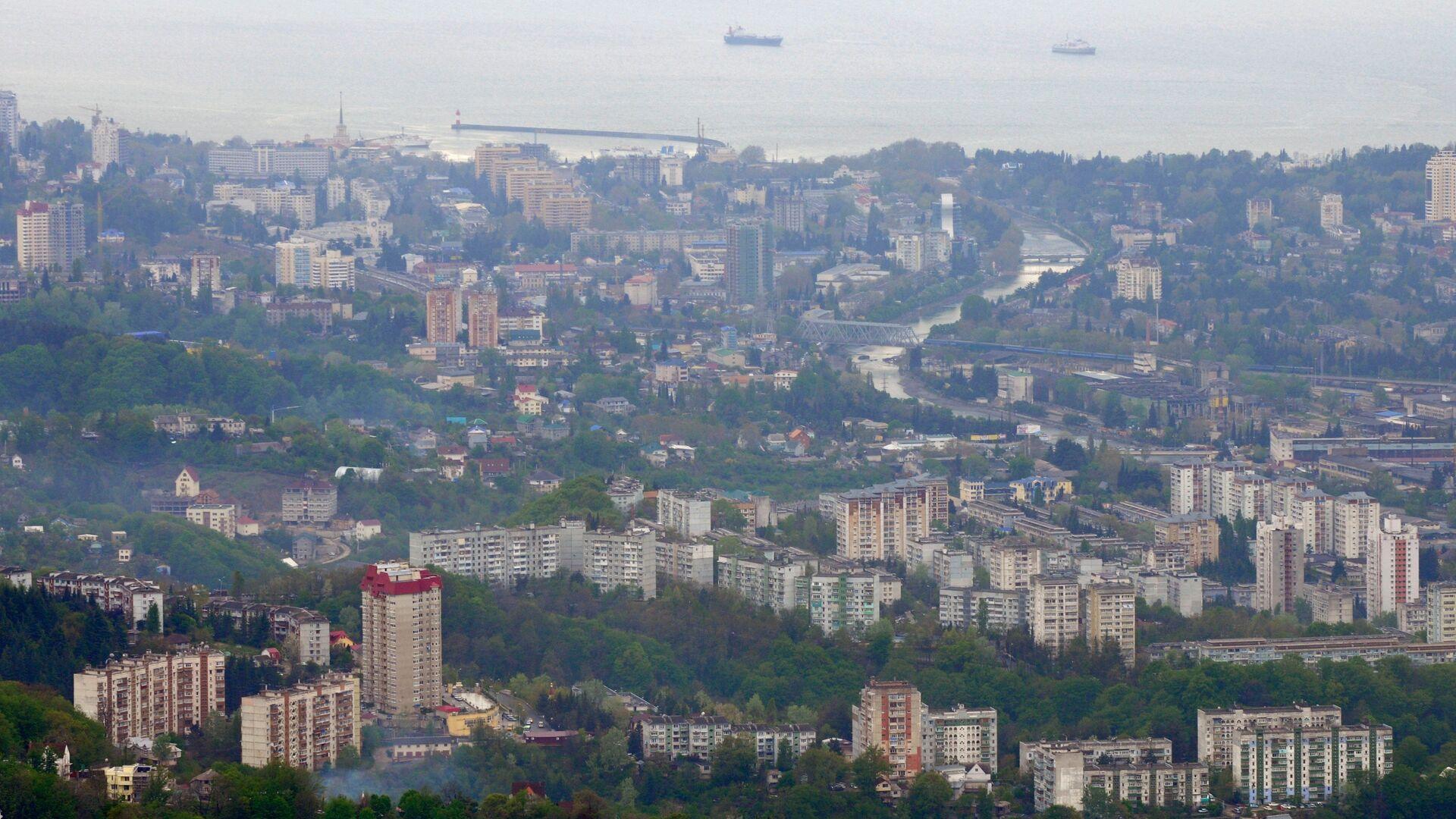 Панорама города Сочи - РИА Новости, 1920, 08.01.2021
