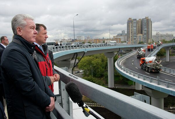 Открытие движения от Звенигородского шоссе до ММДЦ Москва-Сити