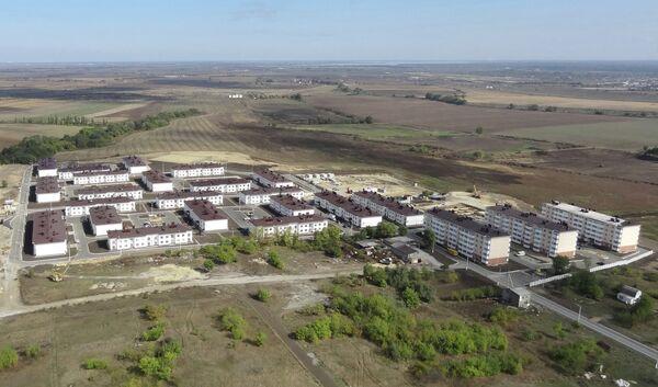 Вид на микрорайон Озерки в Крымске