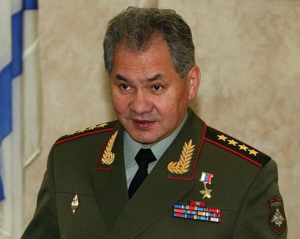 Министр обороны РФ Сергей Шойгу посетил Владивосток