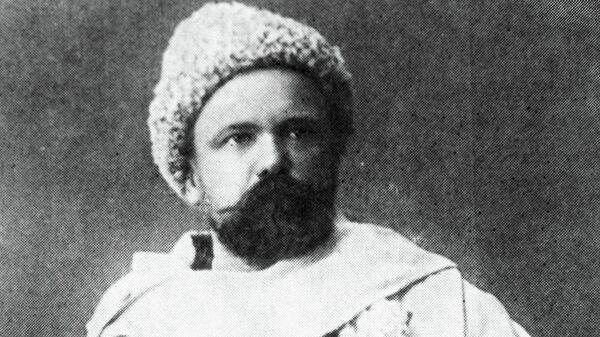 Русский советский писатель Гиляровский