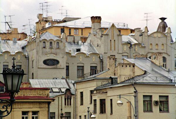 Старые дома на Остоженке