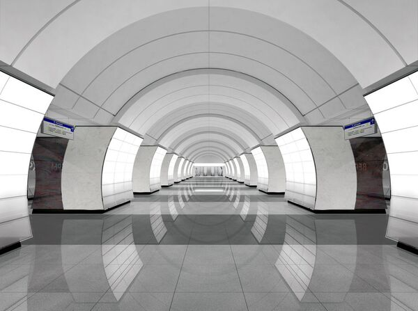 Проект станции метро «Верхние Лихоборы»
