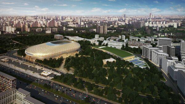 """ВТБ Арена"""" построит в Москве здание с самой большой зеленой крышей ..."""
