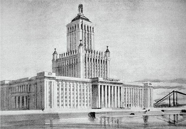 Академия Наук на Крымском валу