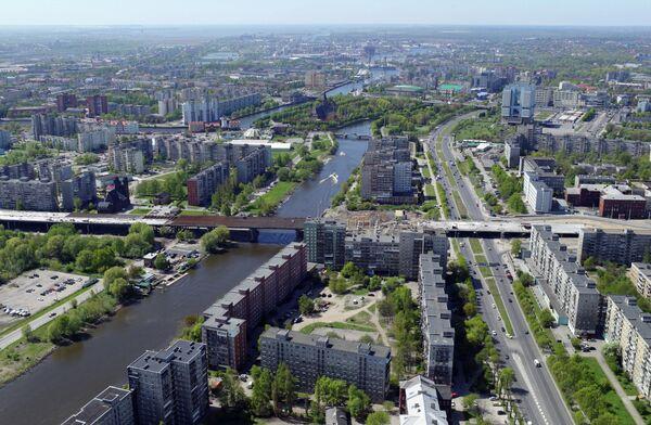 Аэрофотосъемка Калининграда и окрестностей