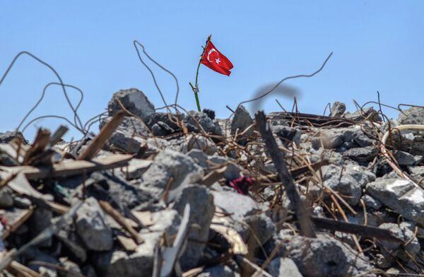 Лагерь протестующих в парке Гези в Стамбуле