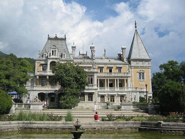 Массандровский дворец императора Александра III