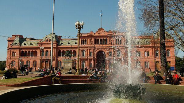 Резиденция президента Аргентины Каса-Росада