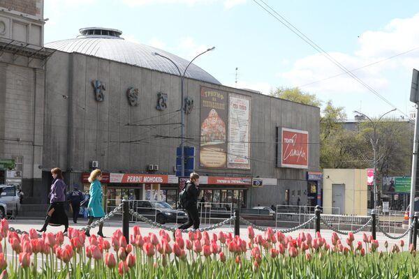 Здание театра Сатиры