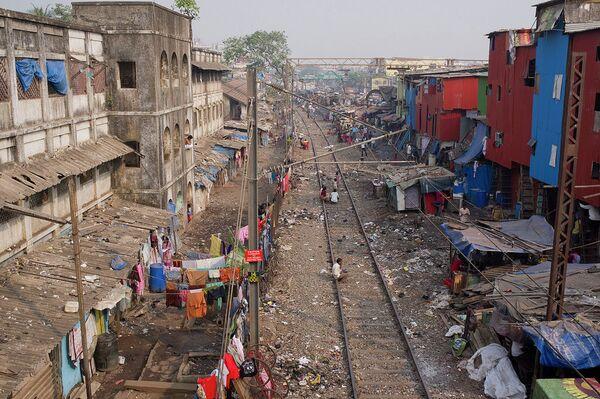 Трущобы Мумбая