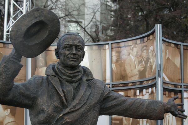 Открытие памятника Юрию Деточкину в Самаре