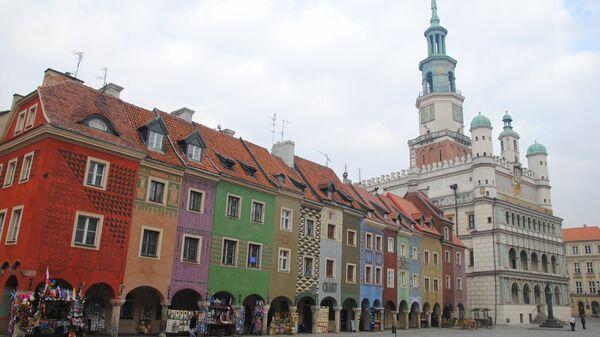 Разноцветные дома в Познани