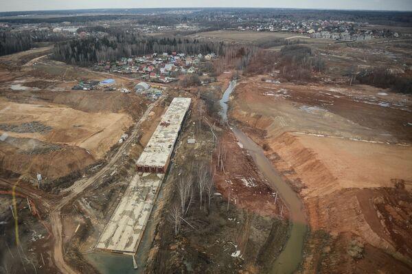 Строительство новой ВПП аэропорта Шереметьево