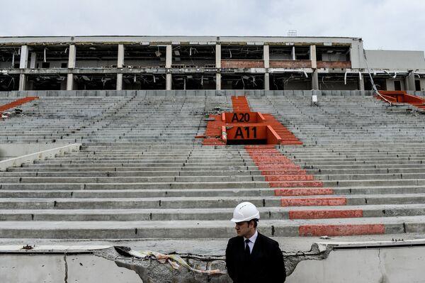 Реконструкция стадиона Центральный к ЧМ-2018