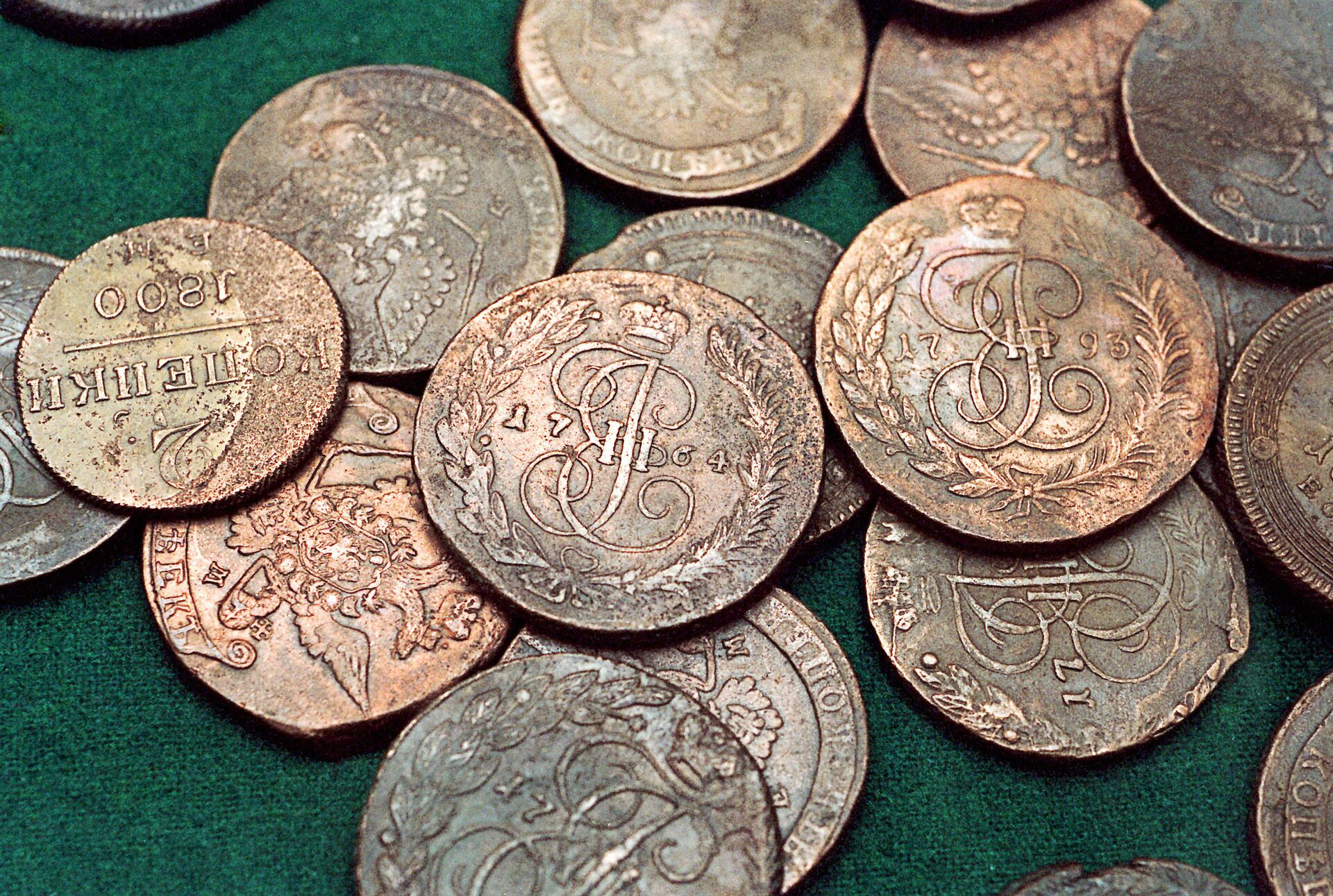 Старинные монеты - РИА Новости, 1920, 21.03.2021