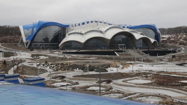 Приморский океанариум на острове Русский