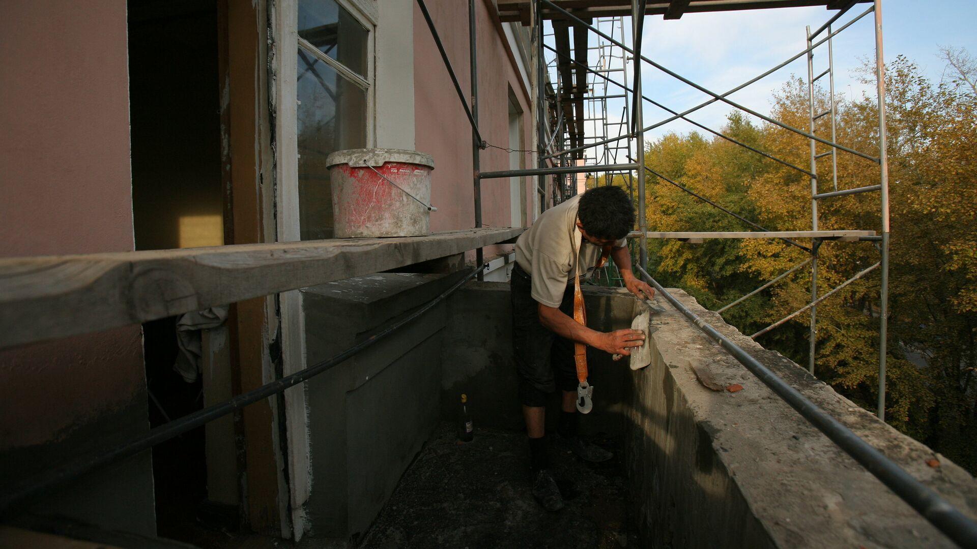 Капитальный ремонт домов - РИА Новости, 1920, 22.09.2020
