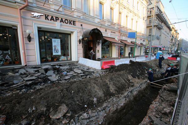 Реконструкция Тверской улицы в Москве