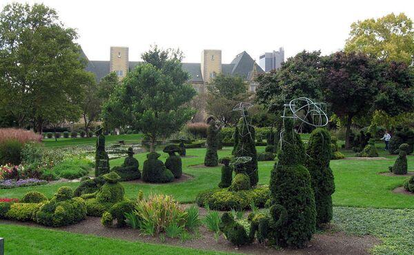 Парк топиари Джеймса Т. Мейсона в Колумбусе