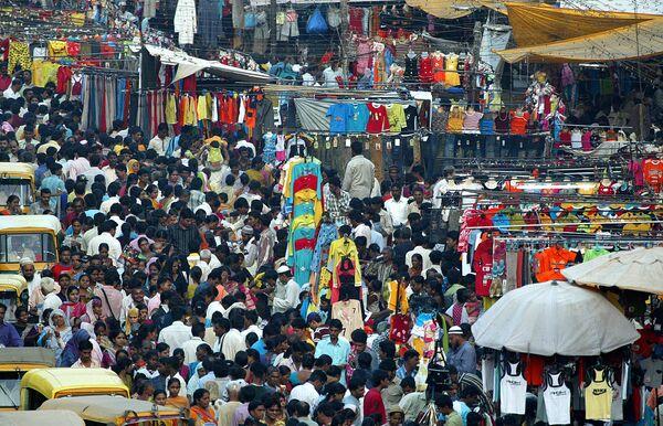 Подготовка к фестивалю Дивали в Индии