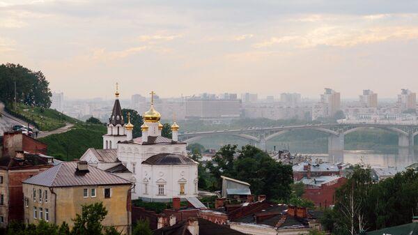 Вид на Нижний Новгород. Архивное фото