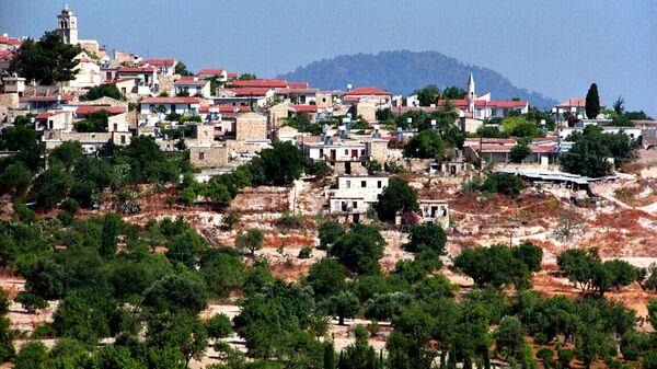 Вид на город Лимассол на Кипре