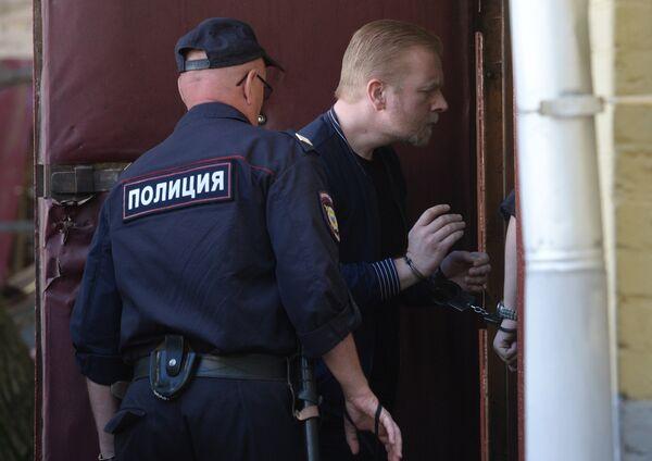 Рассмотрение ходатайство следователя о продлении срока содержания под стражей С. Федотову
