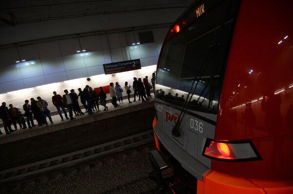 Официальный запуск пассажирского движения на МЦК