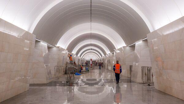 Станция Петровско-Разумовская Люблинско-Дмитровской линии