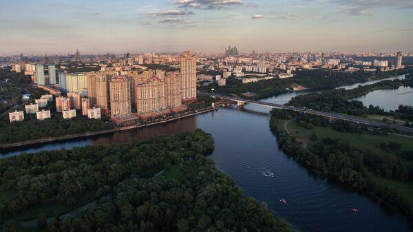 Виды Москвы с высоты птичьего полета