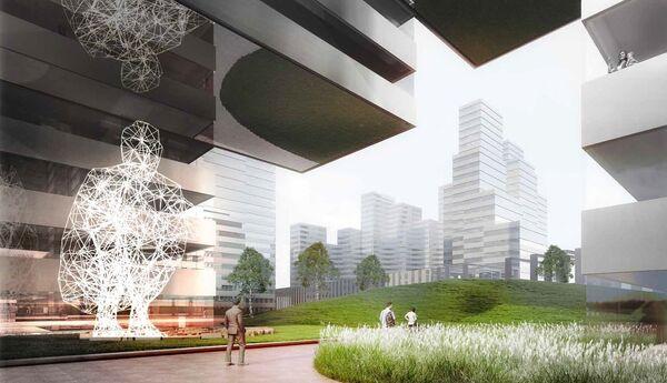 Проект ЖК архбюро Kengo Kuma & Associates