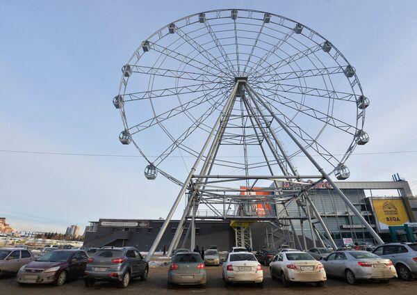 Открытие нового колеса обозрения в Челябинске