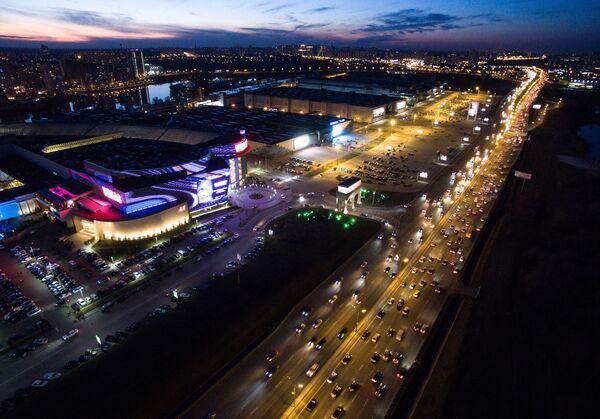Города России. Красногорск. Торгово-выставочный центр Крокус Сити